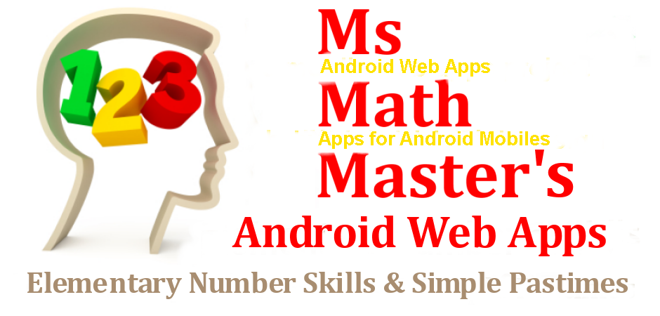 Ms Math Master Web Site Logo